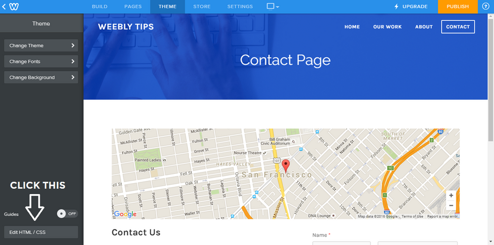 Weebly Tip How To Create A Full Width Map Secti Weebly Community - Full page map of us