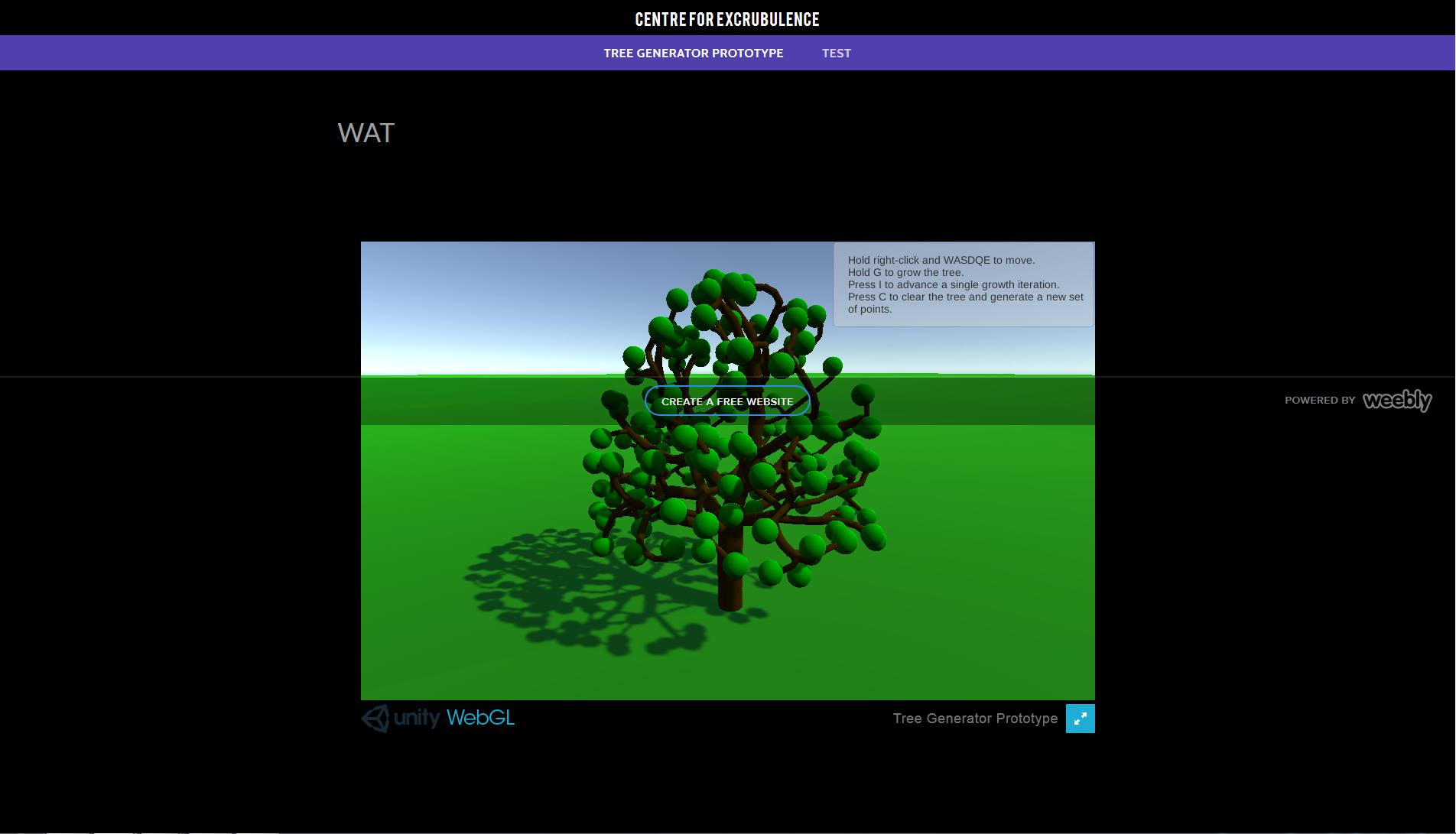 Solved: WebGL content in Embed Code element is rendering b