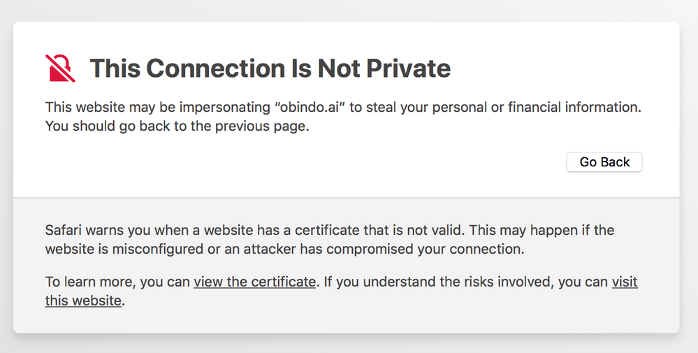 Ssl Certificate Works In Chrome But Not Safari Weebly Community