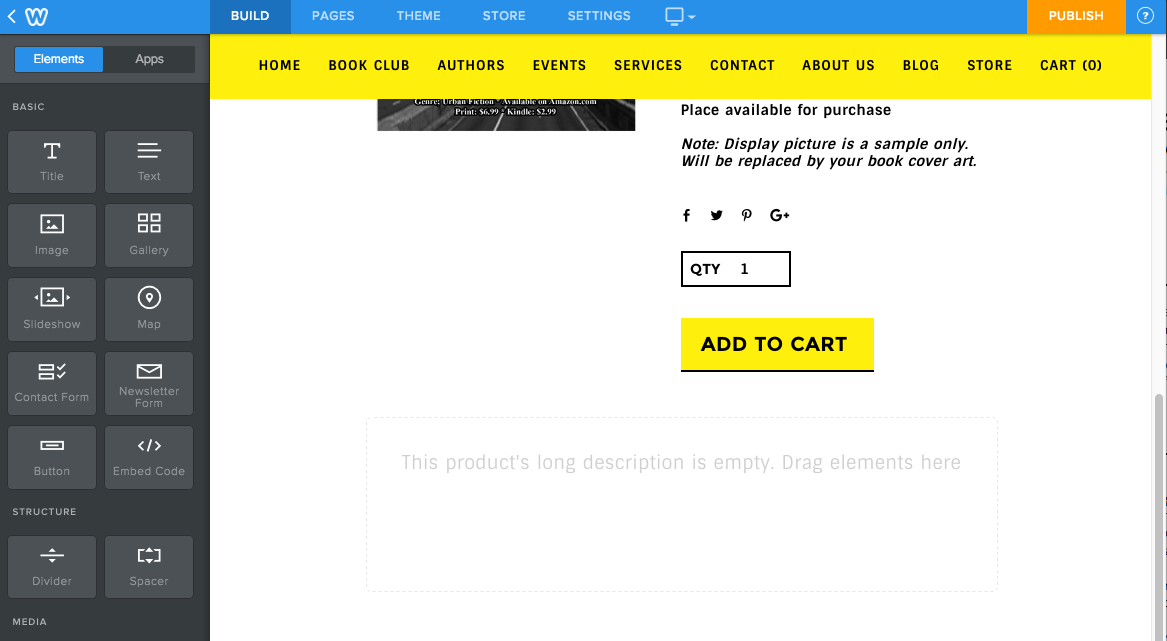 Hide the Purchase Button on an Individual Product
